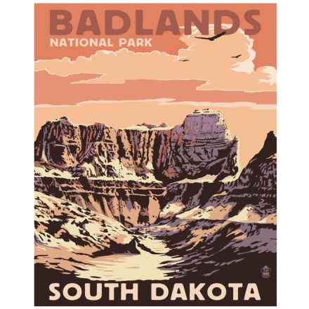 """Portfolio Arts Group Badlands II National Park Print - 16x20"""" in See Photo - Closeouts"""