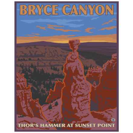 """Portfolio Arts Group Bryce Canyon National Park Sunset Point Print - 16x20"""" in See Photo - Closeouts"""
