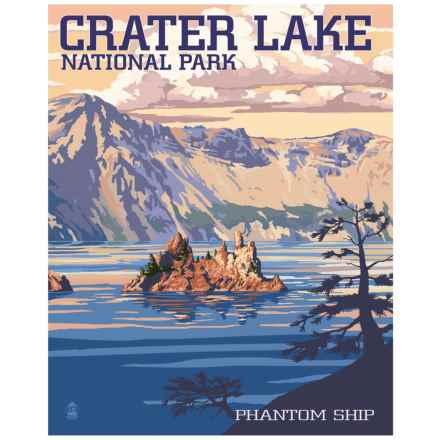 """Portfolio Arts Group Crater Lake National Park Print - 16x20"""" in See Photo - Closeouts"""