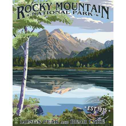 "Portfolio Arts Group Rocky Mountain National Park Canvas Print - 16x20"" in See Photo - Closeouts"