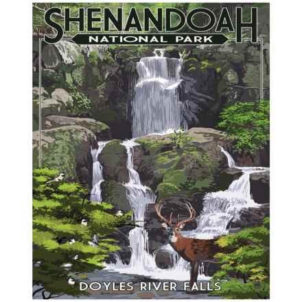 "Portfolio Arts Group Shenandoah Doyles River Falls Print - 16x20"" in See Photo - Closeouts"
