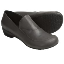 Portlandia Free Shoes - Leather, Slip-Ons (For Women) in Grey Burnished - Closeouts