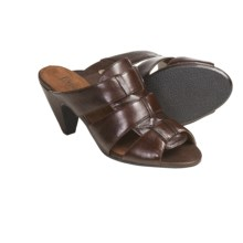 Portlandia LaJolla Sandals - Leather (For Women) in Chocolate - Closeouts
