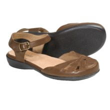 Portlandia Lucca Sandals - Leather (For Women) in Tan - Closeouts