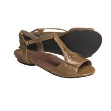 Portlandia Manzanita T-Strap Sandals - Leather (For Women) in Tan - Closeouts
