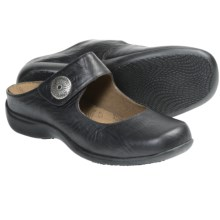 Portlandia Move Slip-On Shoes - Leather (For Women) in Black Vintage - Closeouts