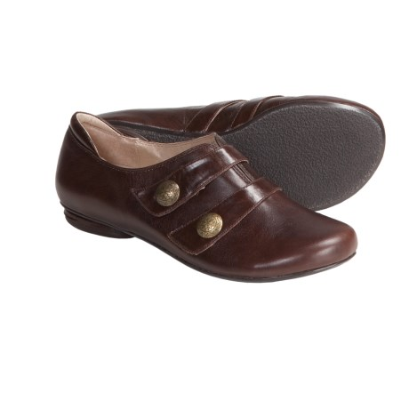 Portlandia Portland Flats - Leather (For Women) in Chocolate