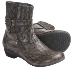 Portlandia Quest Boots - Leather (For Women) in Grey Vintage
