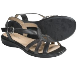 Portlandia Tuscany Sandals - Leather (For Women) in Black Multi