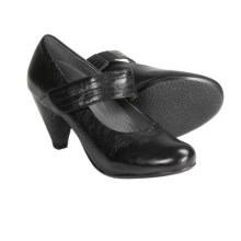 Portlandia Vesta Mary Jane Shoes - Leather (For Women) in Black - Closeouts