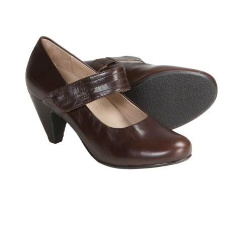 Portlandia Vesta Mary Jane Shoes - Leather (For Women) in Chocolate