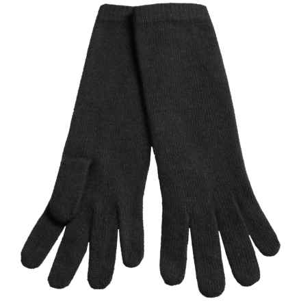 "Portolano 13"" Cashmere Gloves (For Women) in Black - Closeouts"
