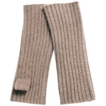 "Portolano Cashmere 9"" Arm Warmer (For Women) in Nile Brown - Closeouts"