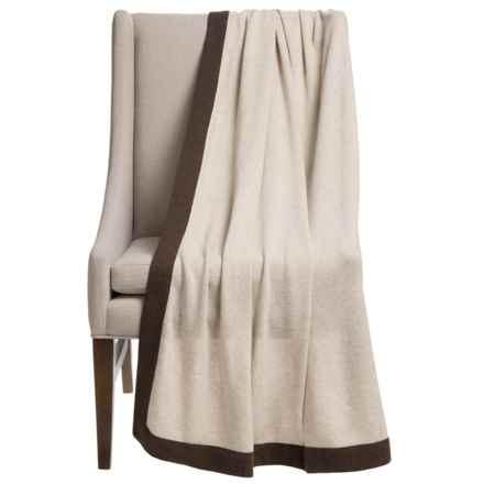 "Portolano Gypsy Yarn Throw Blanket - 50x68"" in Beige/Brown - Overstock"