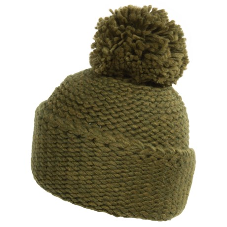Portolano Pompom Beanie (For Women) in Marcio