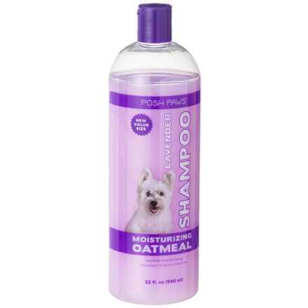 Posh Paws Oatmeal Lavender Dog Shampoo - 32 oz. in Oatmeal Lavender - Closeouts
