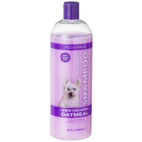 Posh Paws Oatmeal Lavender Dog Shampoo - 32 oz. in Oatmeal Lavender