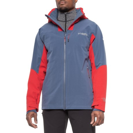 Powder Keg II Omni-Tech(R) Omni-Heat(R) Ski Jacket - Waterproof, Insulated (For Men) - DARK MOUNTAIN/RED (M )