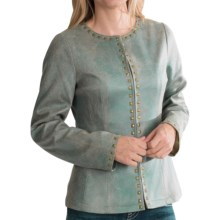 Powder River Outfitters Angelica Jacket (For Women) in Turquoise - Closeouts