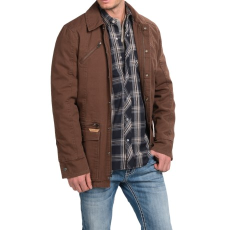 Powder River Outfitters Billings Snow Washed Canvas Coat (For Men)