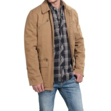 Powder River Outfitters Billings Snow-Washed Canvas Coat (For Men) in Tan - Closeouts