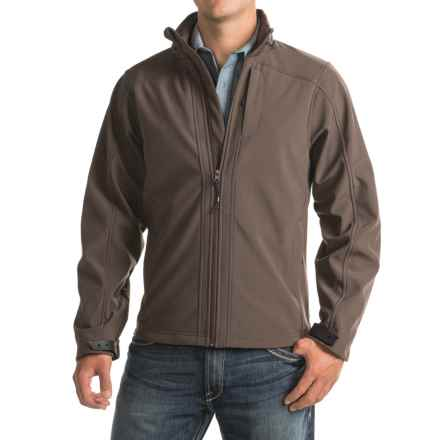 Powder River Outfitters Bonded Soft Shell Jacket (For Men) in Brown - Closeouts