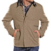 Powder River Outfitters Clayton Coat - Wool Blend (For Men) in Heather Camel - Closeouts