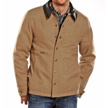 Powder River Outfitters Clayton Coat - Wool Blend (For Men) in Tan - Closeouts