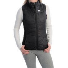Powder River Outfitters Fitted Vest - Insulated (For Women) in Black - Closeouts