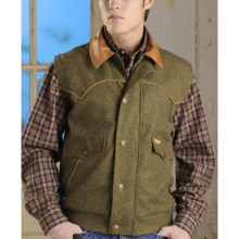 Powder River Outfitters Holbrook Vest - Wool Blend (For Men) in Olive - Closeouts