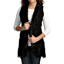 Powder River Outfitters Honeyspun Vest (For Women) in Black - Closeouts