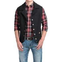 Powder River Outfitters Idaho Vest (For Men) in Charcoal - Closeouts