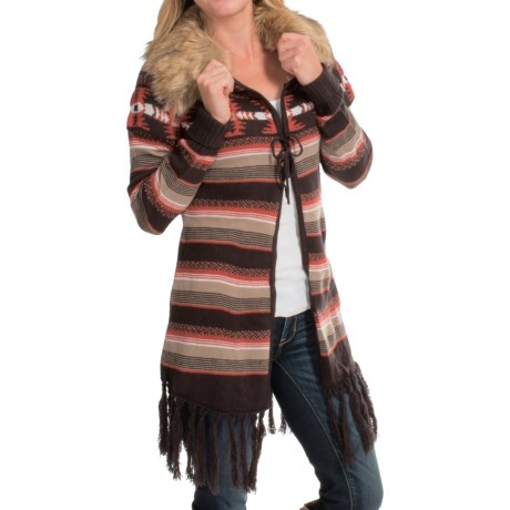 Powder River Outfitters Jaden Heritage Aztec Cardigan Sweater (For Women)