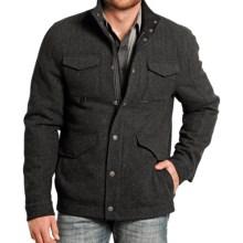 Powder River Outfitters Lyndon Wool Coat (For Men) in Black - Closeouts