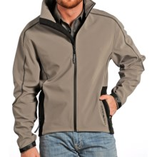 Powder River Outfitters Mariner Soft Shell Jacket (For Men) in Brown/Black - Closeouts