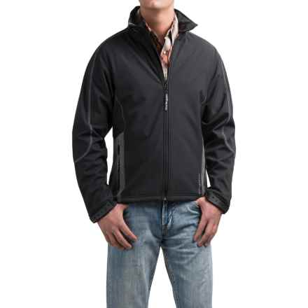 Powder River Outfitters Mariner Soft Shell Jacket - Full Zip, Fleece (For Men) in Black - Closeouts