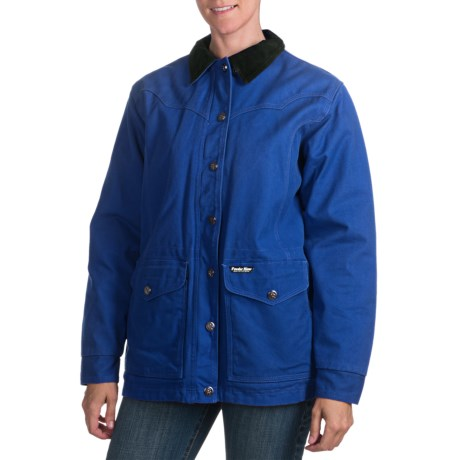 Powder River Outfitters Marion Coat - Insulated (For Women) in 44 Royal