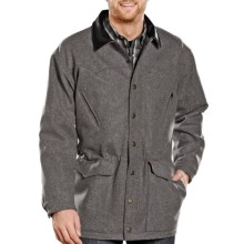 Powder River Outfitters Montana Coat - Australian Wool (For Men) in Dark Ash - Closeouts