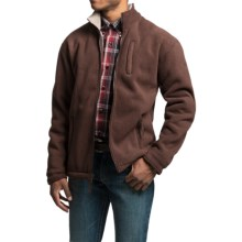 Powder River Outfitters Northwestern Fleece Jacket (For Men) in Brown - Closeouts