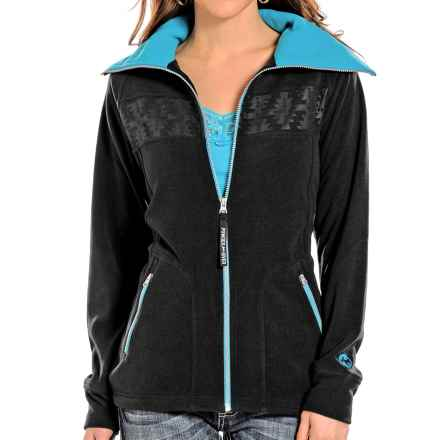 Powder River Outfitters Sequoia Fleece Jacket (For Women) in Black - Closeouts