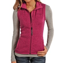 Powder River Outfitters Solid High-Performance Vest - Full Zip (For Women) in Hot Pink - Closeouts