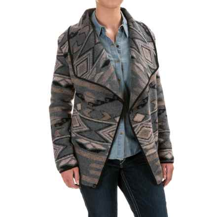 Powder River Outfitters Southwest Jacket - Wool Blend (For Women) in Grey - Closeouts