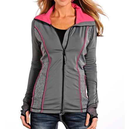 Powder River Outfitters Sterling Solid HIgh-Performance Jacket (For Women) in Charcoal - Closeouts