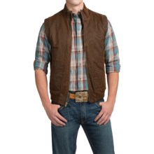 Powder River Outfitters Tannon Snow Wash Vest - Insulated (For Men) in Dark Brown - Closeouts