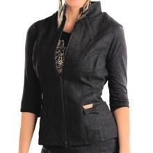 Powder River Outfitters Topeka Vest - Double-Princess Seams (For Women) in Black - Closeouts