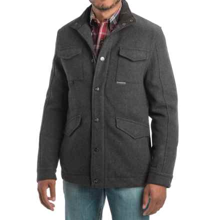 Powder River Outfitters Wool Field Jacket (For Men) in Charcoal - Closeouts