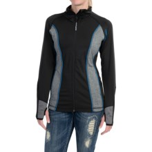 Powder River Outfitters Zip-Front Jacket (For Women) in Black/Turquoise - Closeouts