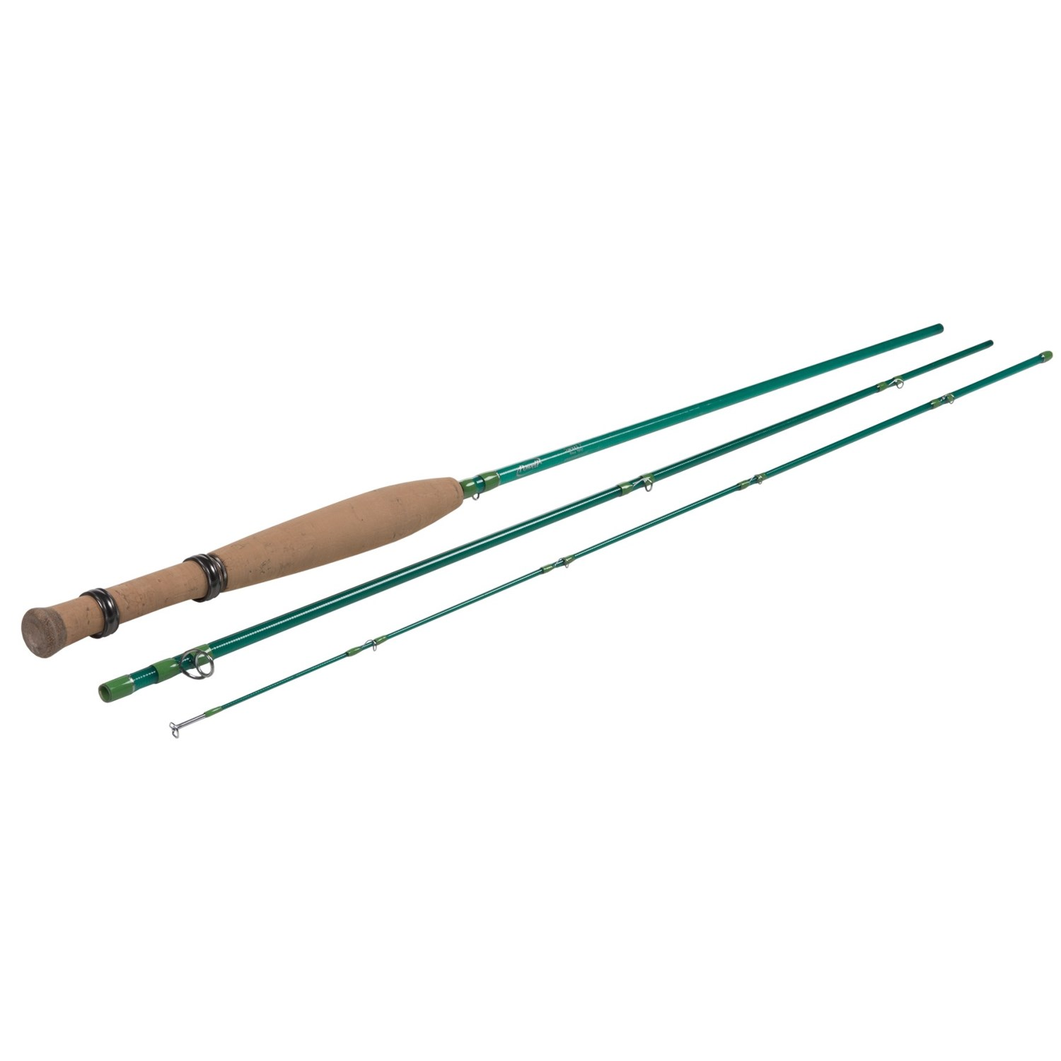 Powell fly rods rods sweetp fiberglass fly rod 3 piece for 3 piece fishing rod