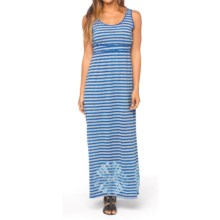 prAna Adrienne Maxi Dress - Empire Waist, Sleeveless (For Women) in Sail Blue - Closeouts