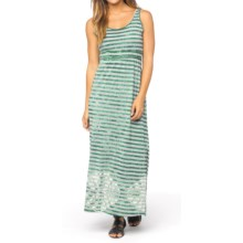 prAna Adrienne Maxi Dress - Empire Waist, Sleeveless (For Women) in Seaweed - Closeouts
